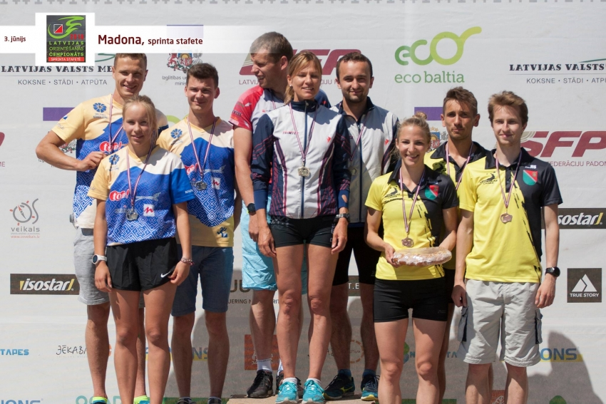 Latvijas čempionāts sprinta stafetēs