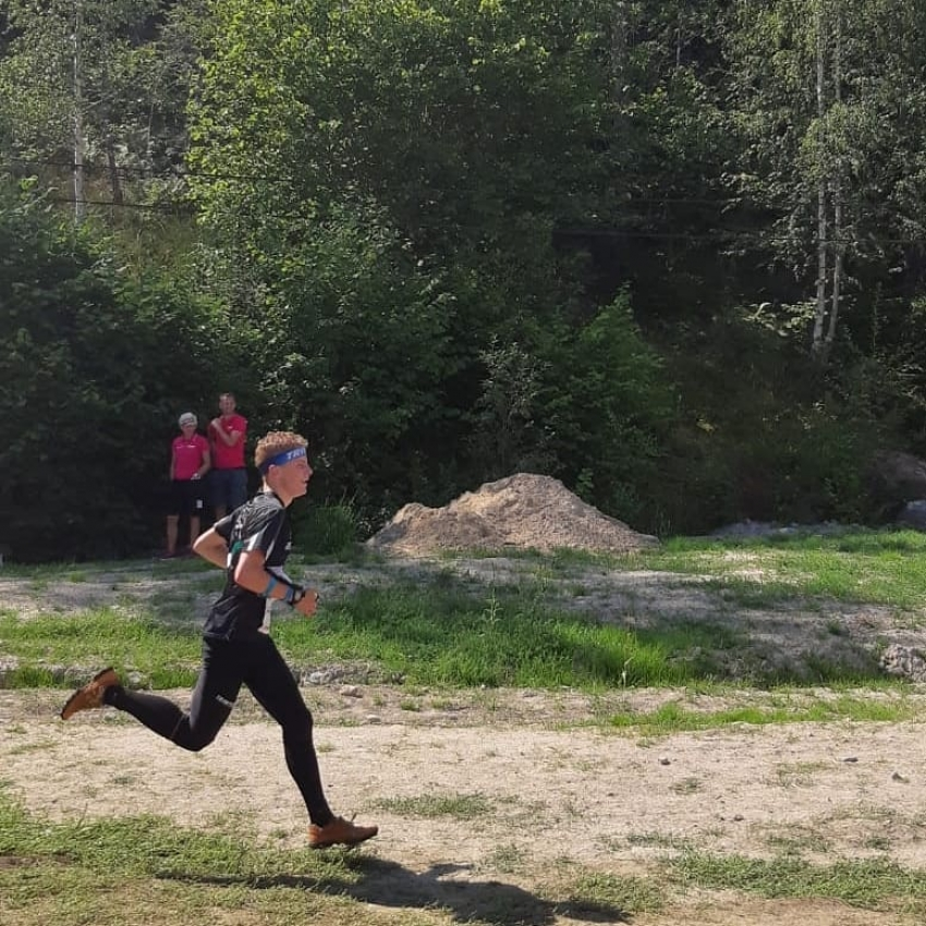 Ilgvars Caune startē O-Ringen 2019.